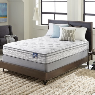 Serta Extravagant Euro Top Twin-size Mattress Set