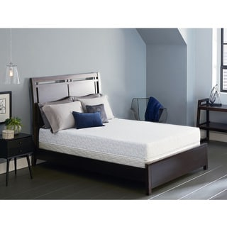 Serta Lure 8-inch Cal King-size Gel Memory Foam Mattress Set