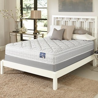 Serta Gleam Euro Top Twin-size Mattress Set