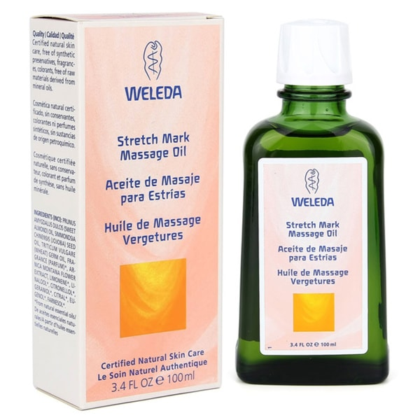 Weleda Stretch Mark 3.4-ounce Massage Oil
