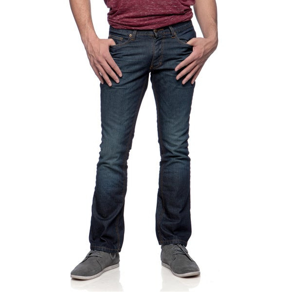 Riff Stars Men's Indigo Wash Blue Jeans