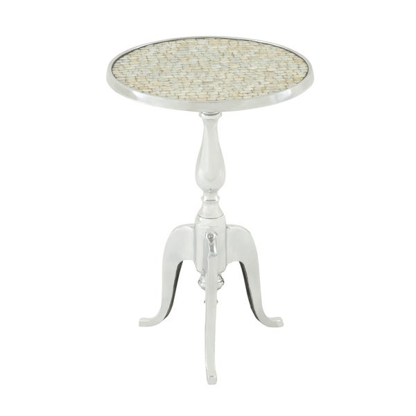 Cool Aluminum Top Accent Table