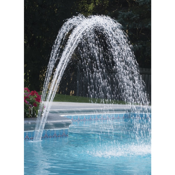 Ocean Blue Waterfall Fountain
