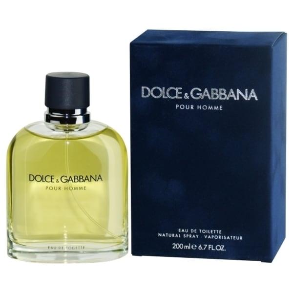 Dolce & Gabbana Pour Homme 6.8-ounce Eau de Toilette Spray