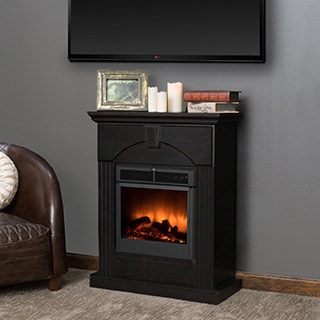 Christopher Knight Home Ericson Electric Fireplace Mantel with Remote Control