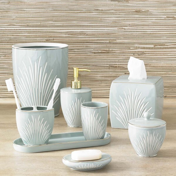 Coastal porcelain bath accessory collection 17268706 for The collection bathroom accessories