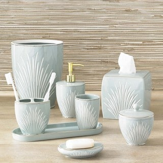 Coastal Porcelain Bath Accessory Collection