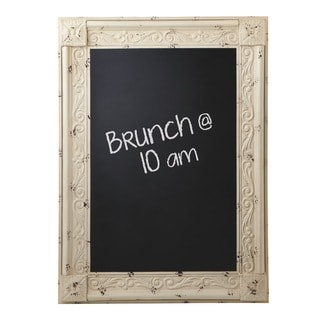 Midwest CBK Distressed Ivory Framed Chalkboard