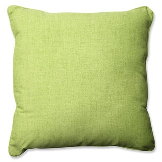 Pillow Perfect Outdoor/ Indoor Baja Linen Lime 23-inch Floor Pillow