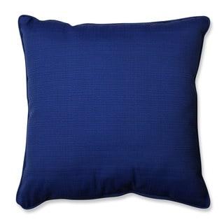 Pillow Perfect Outdoor/ Indoor Fresco Navy 23-inch Floor Pillow