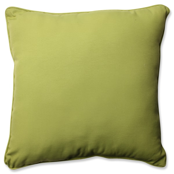 Pillow Perfect Outdoor/ Indoor Fresco Pear 23-inch Floor Pillow