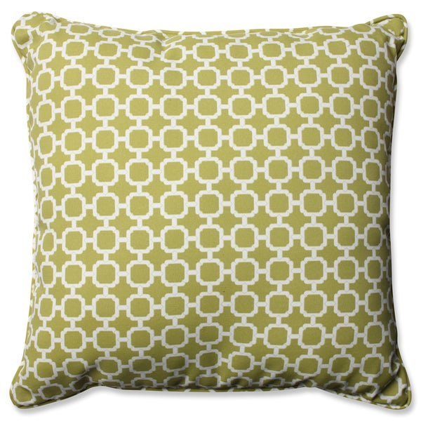Pillow Perfect Outdoor/ Indoor Hockley Pear 23-inch Floor Pillow