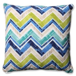 Pillow Perfect Outdoor/ Indoor Marquesa Marine 23-inch Floor Pillow