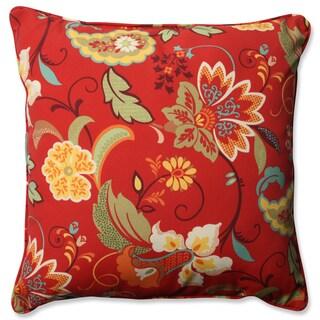 Pillow Perfect Outdoor/ Indoor Tamariu Alfresco Valencia 23-inch Floor Pillow