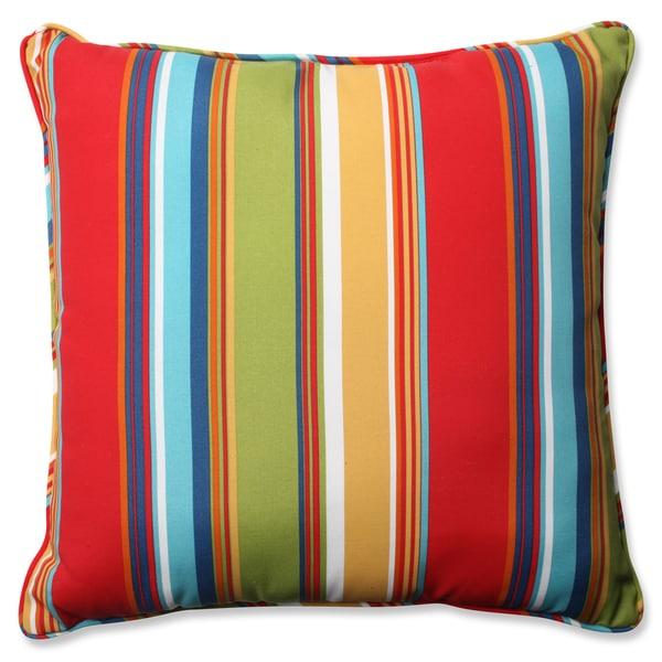 Pillow Perfect Outdoor/ Indoor Westport Garden 23-inch Floor Pillow - 17268821 - Overstock.com ...