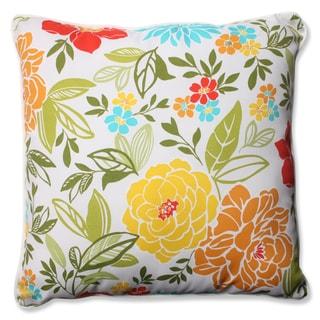Pillow Perfect Outdoor/ Indoor Spring Bling Multi 23-inch Floor Pillow