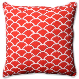 Pillow Perfect Outdoor/ Indoor Sunny Red 23-inch Floor Pillow