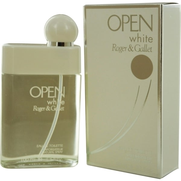 Roger & Gallet Open White Men's 3.4-ounce Eau de Toilette Spray