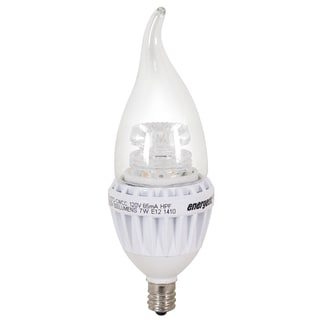 Candelabra 7-watt/ 60W Equivalent Dimmableable E12 BASE Light Bulb
