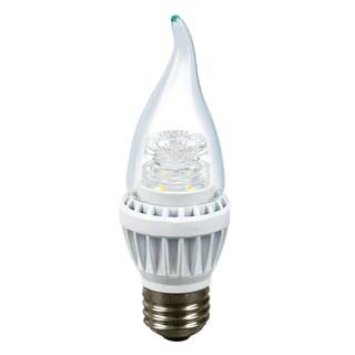 Candelabra 7-watt Dimmable E26 BASE LED Light Bulb (Pack of 6)