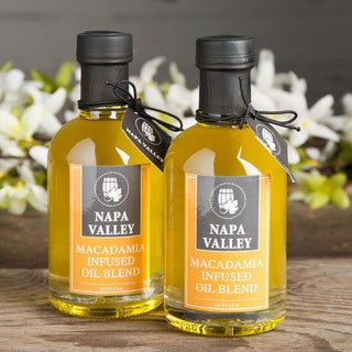 Napa Valley Macadamia-Infused Oil (Pack of 2)