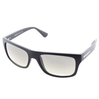 Prada Unisex PR 18PS 1BO0B1 Rectangle Sunglasses