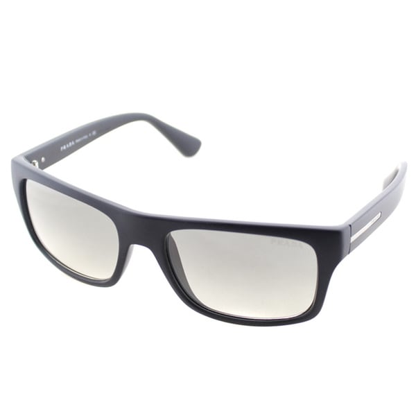 Prada Unisex PR 18PS 1BO0B1 Rectangle Sunglasses