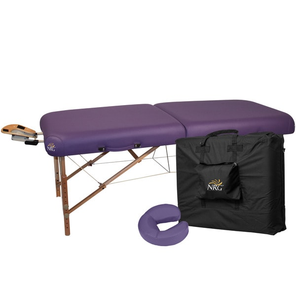 NRG Ultimate Portable Massage Table Package