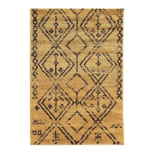 Oh! Home Moroccan Fes Camel/Brown Rug (8' x 10')