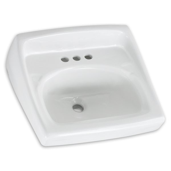 American Standard Lucerne Wall-Mount Porcelain 18.25 20.50 Bathroom ...