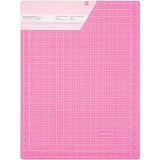 Pink DoubleSided SelfHealing Cutting Mat 18inX24in