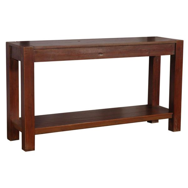 Ripley Brown Rectangle Console Table