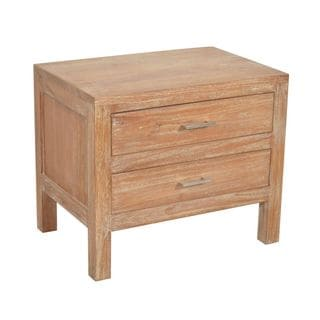 Ruleville Tan Square Side Table