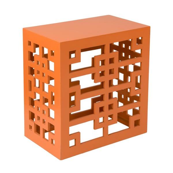 Yazoo Orange Square End Table