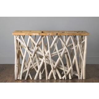 Alto Tan Rectangle Console Table