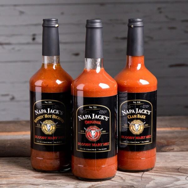 Napa Jack's Bloody Mary Mix Sampler Set