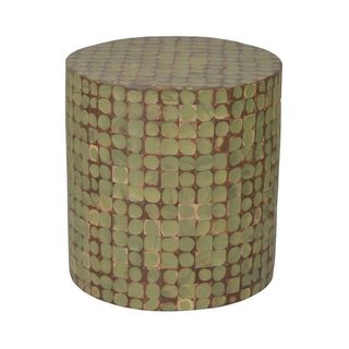 Howey Green Round End Table