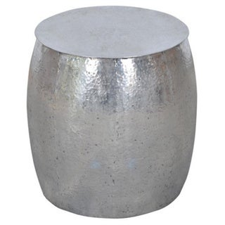 Aurora Silver Round Side Table 17269265 Shopping