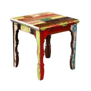Aberdeen Multi-Colored Square End Table
