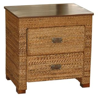 Drew Tan Square Side Table