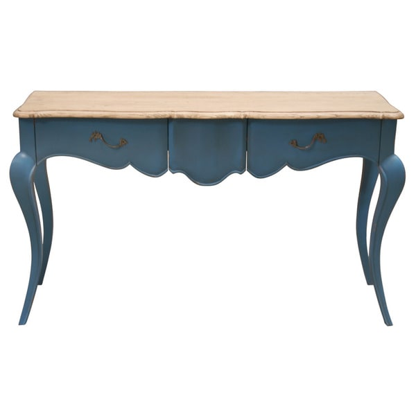 Atlantis Blue Rectangle Console Table