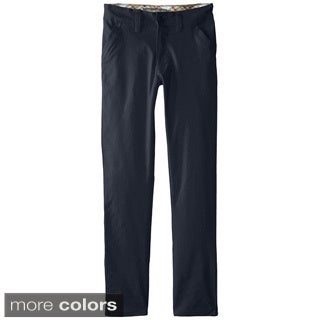 Eddie Bauer Big Girls' Stretch Twill Skinny Leg Pant - School Uniform