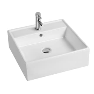 Modern Countertop Wash Basin with Overflow