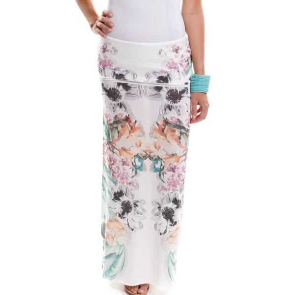 Hadari Women's Multi Maxi Skirt