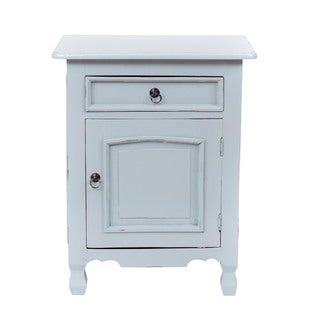 Paola Casual Grey Square Accent Table