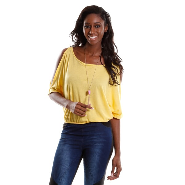 Hadari Women's Open Shoulder Top
