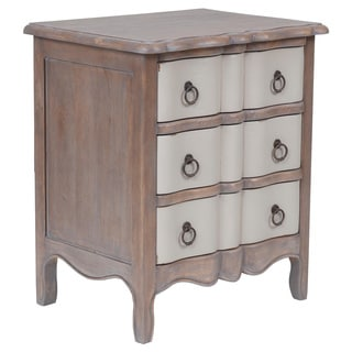 Salina Casual Brown Square Side Table