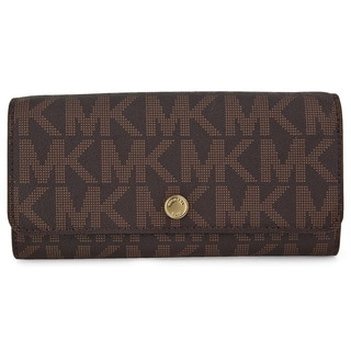 MICHAEL Michael Kors MK Signature Wallet on a Chain