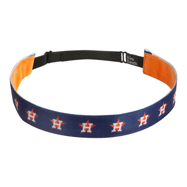 Bani Bands Astros Baseball Combo Headband (3-pack)