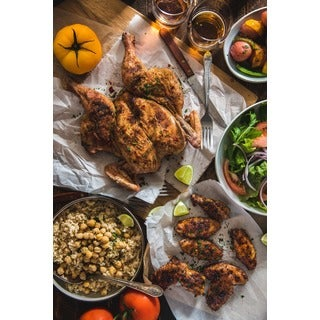 5280 Land and Cattle Co. Whole Free Range Chicken Bundle